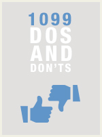 1099 Dos and Don'ts