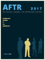 2017 Annual Federal Tax Refresher