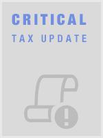 Critical Tax Update