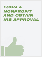 Form a Nonprofit and Obtain IRS Approval