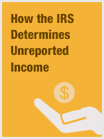 How the IRS Determines Unreported Income