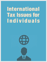 International Tax Issues for Individuals