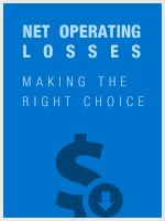Net Operating Losses - Making the Right Choice