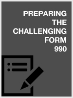 Preparing the Challenging Form 990