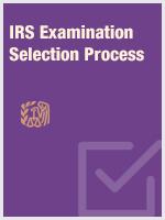 IRS Examination Selection Process