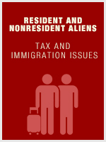 Resident and Nonresident Aliens - Tax and Immigration Issues